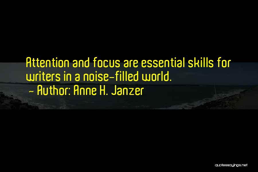 Anne H. Janzer Quotes 785798