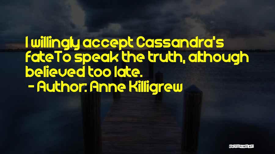 Anne Killigrew Quotes 1917806