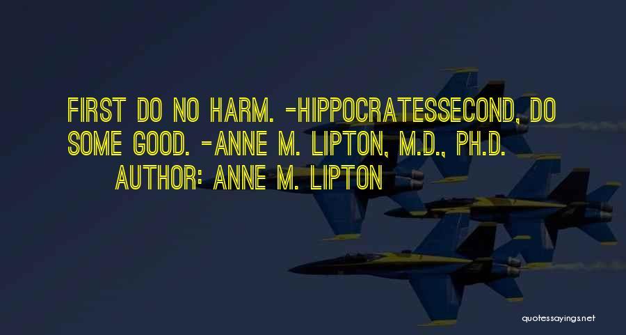 Anne M. Lipton Quotes 790436