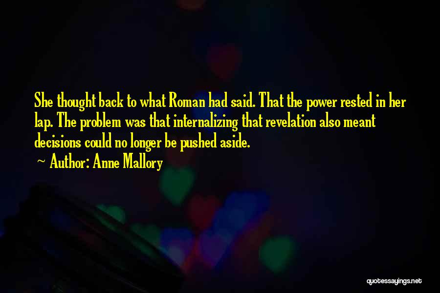 Anne Mallory Quotes 1045895