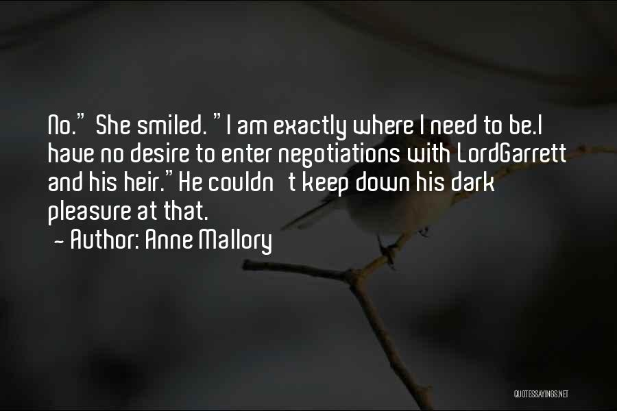 Anne Mallory Quotes 1895280