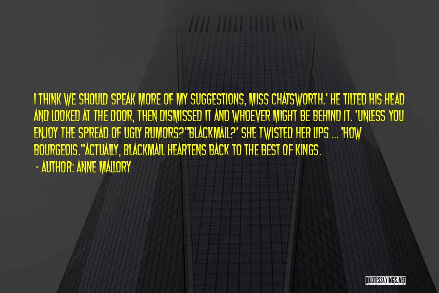 Anne Mallory Quotes 971937