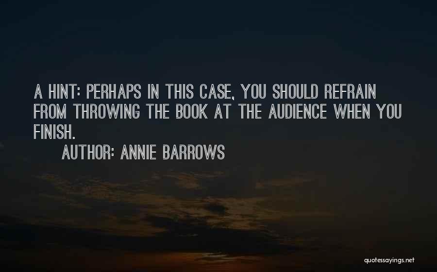Annie Barrows Quotes 1449804