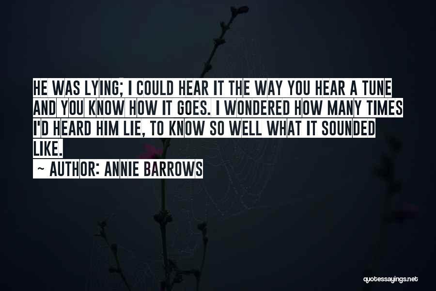 Annie Barrows Quotes 152300