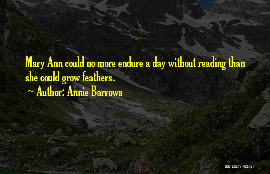 Annie Barrows Quotes 1735507