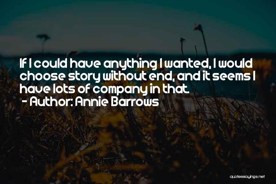 Annie Barrows Quotes 201516