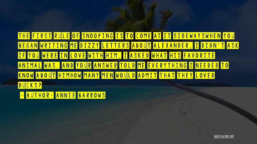 Annie Barrows Quotes 2031883