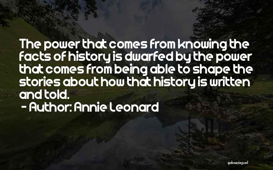 Annie Leonard Quotes 1450097