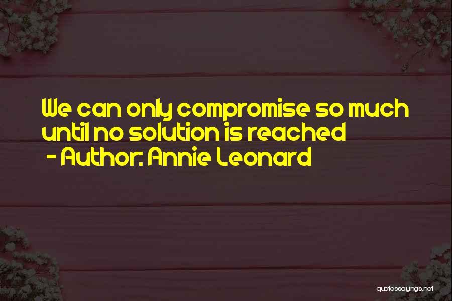 Annie Leonard Quotes 211820