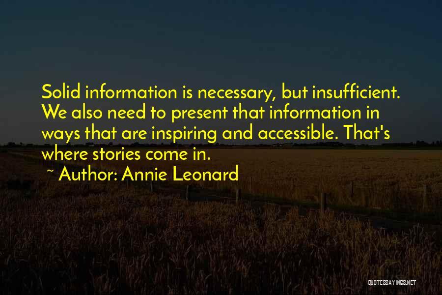Annie Leonard Quotes 292290