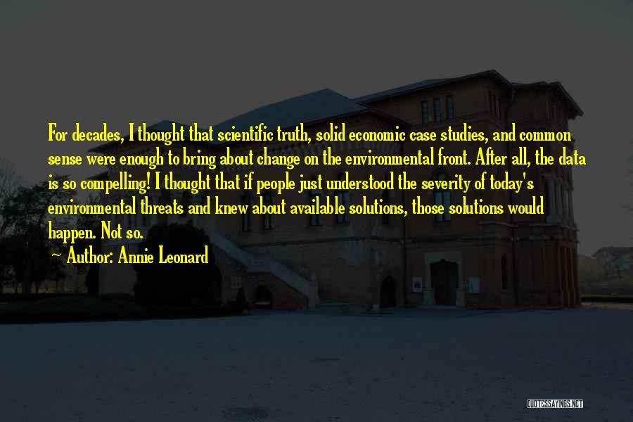 Annie Leonard Quotes 382108