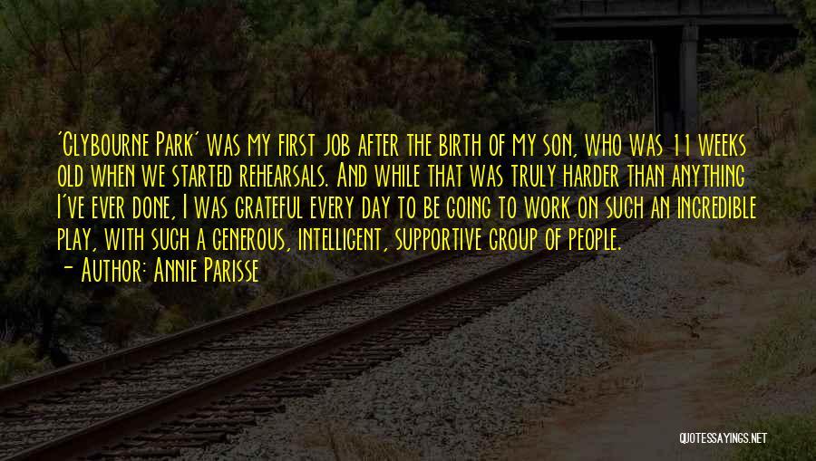 Annie Parisse Quotes 1585524