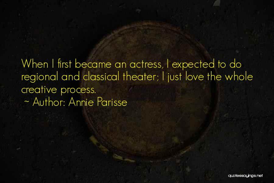 Annie Parisse Quotes 1650234