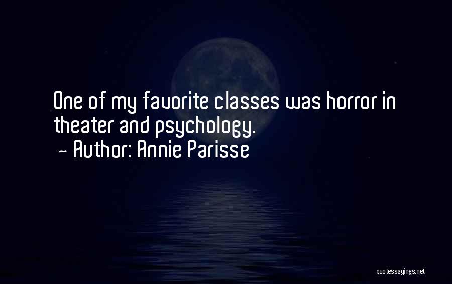 Annie Parisse Quotes 1729389