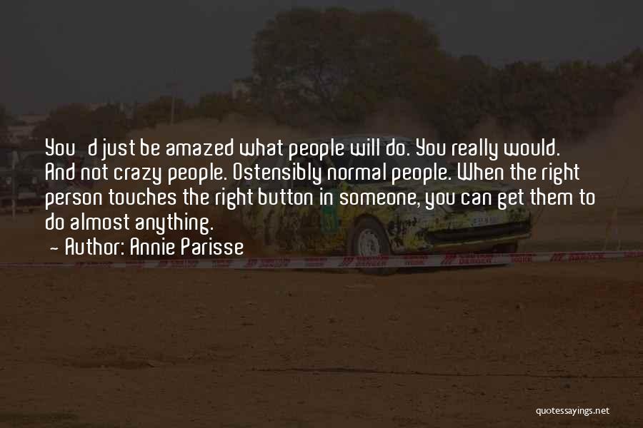 Annie Parisse Quotes 277315