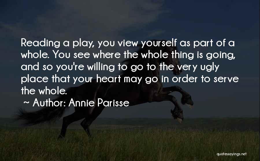 Annie Parisse Quotes 973091