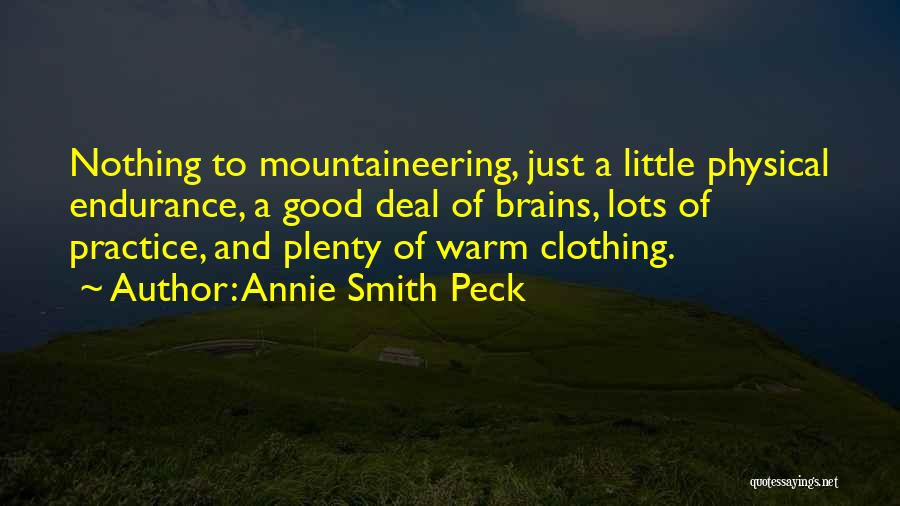 Annie Smith Peck Quotes 1320802