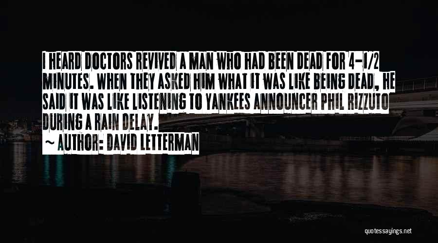Announcer Quotes By David Letterman