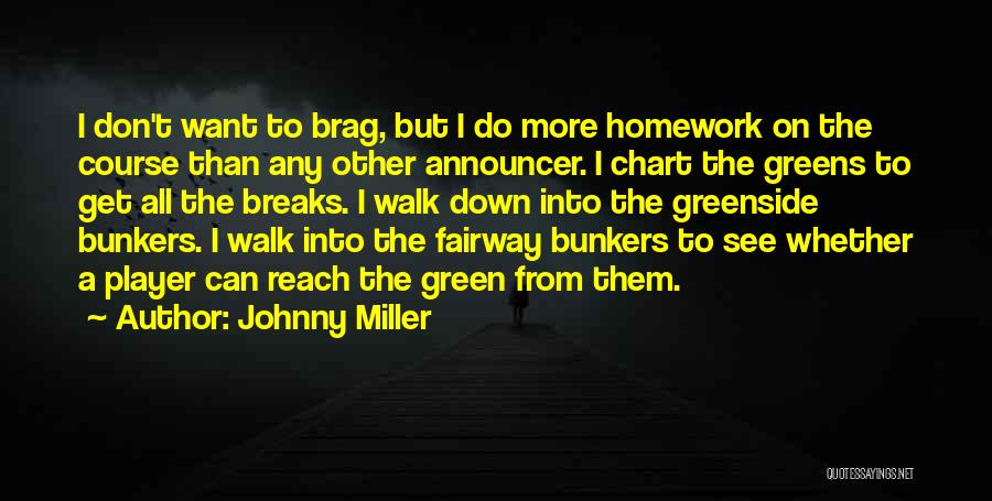 Announcer Quotes By Johnny Miller