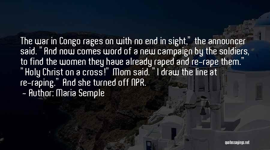 Announcer Quotes By Maria Semple