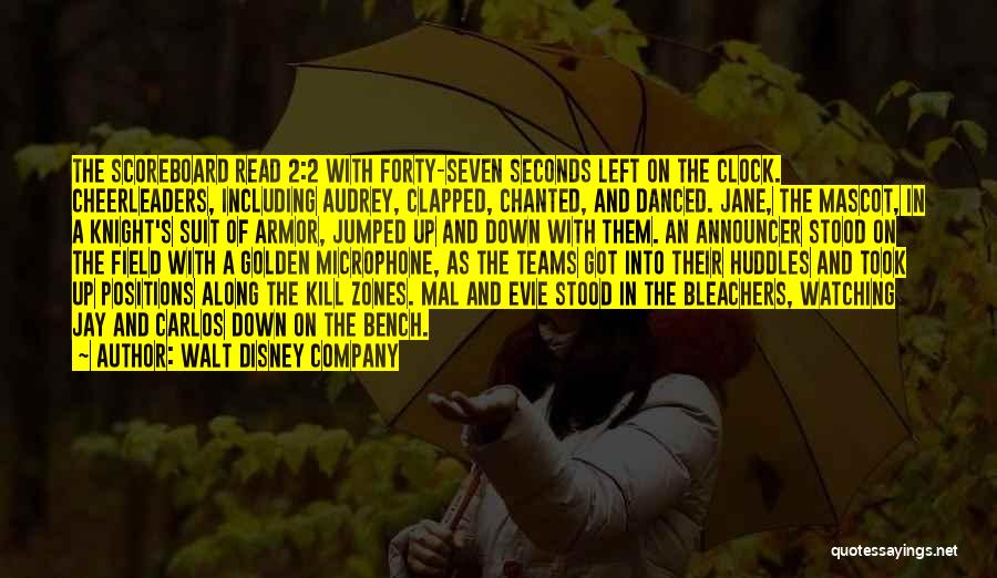 Announcer Quotes By Walt Disney Company