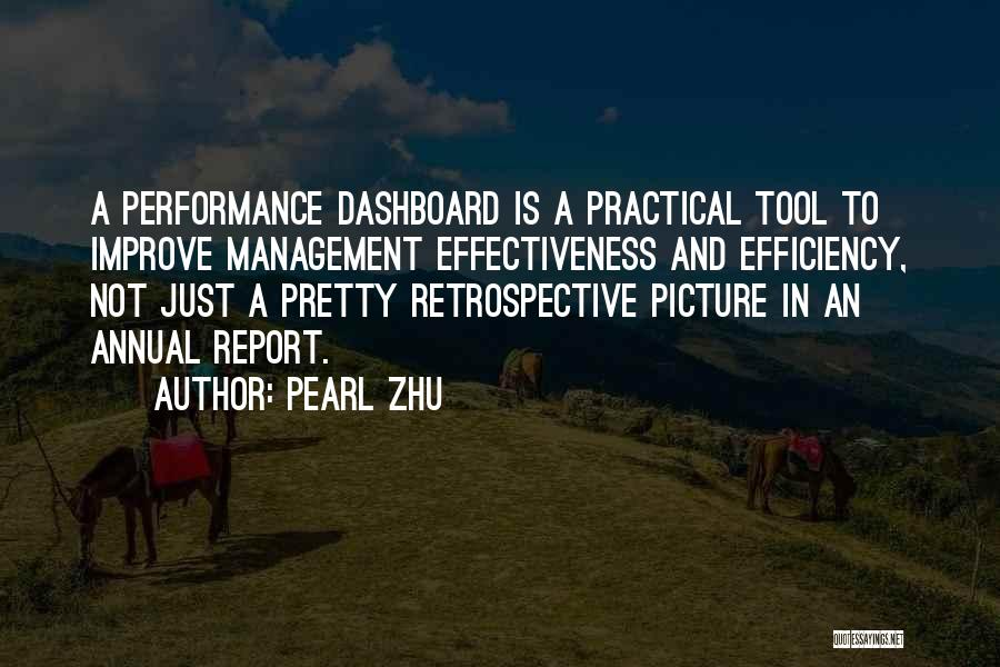 Annual Report Quotes By Pearl Zhu