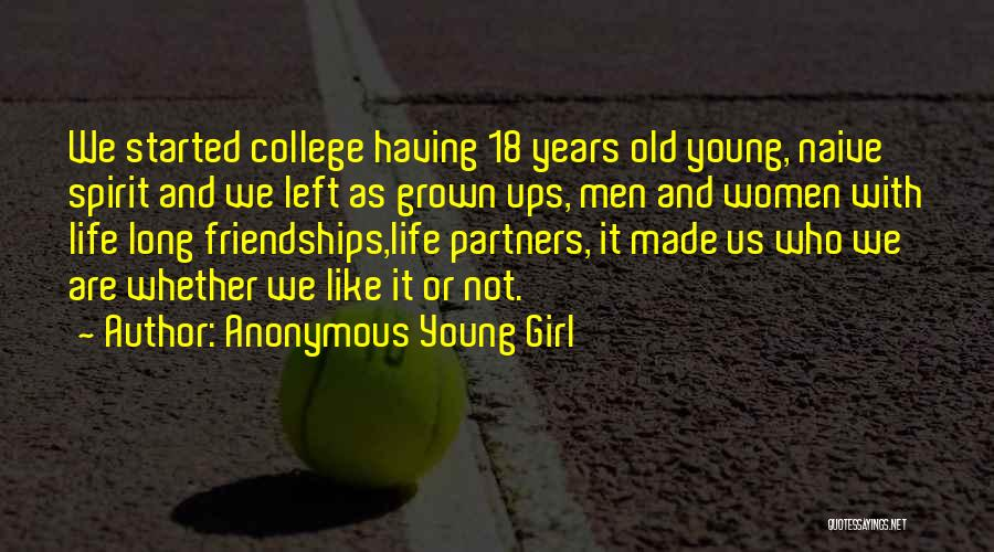 Anonymous Young Girl Quotes 675590