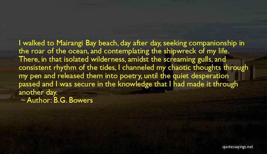 Another Day In My Life Quotes By B.G. Bowers