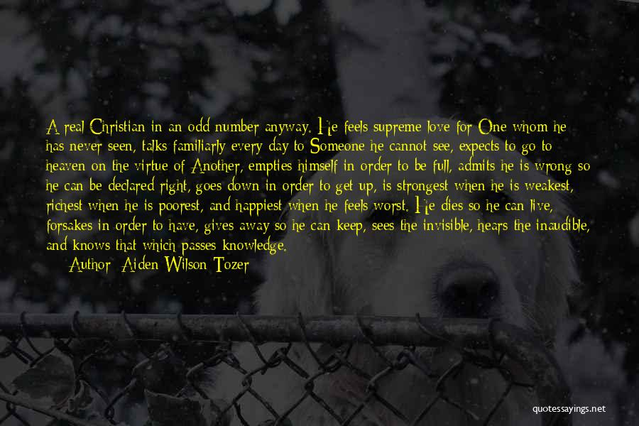 Another Day Passes Quotes By Aiden Wilson Tozer