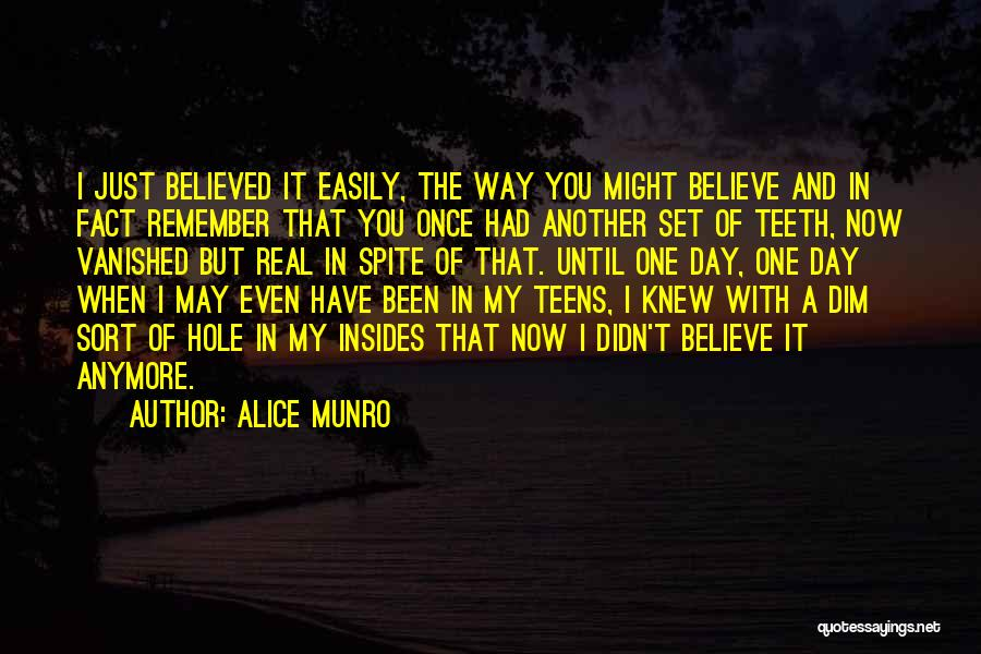 Another Day With You Quotes By Alice Munro