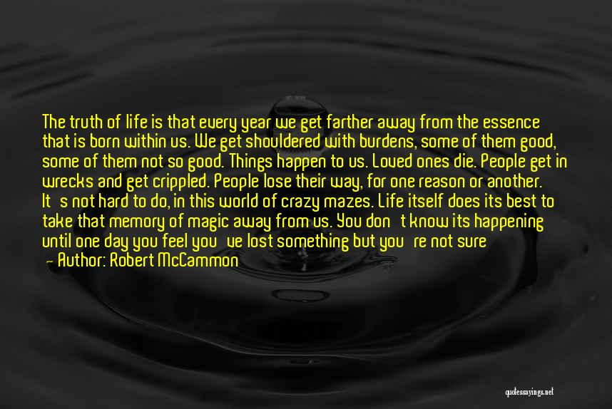 Another Day With You Quotes By Robert McCammon