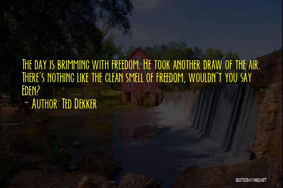 Another Day With You Quotes By Ted Dekker