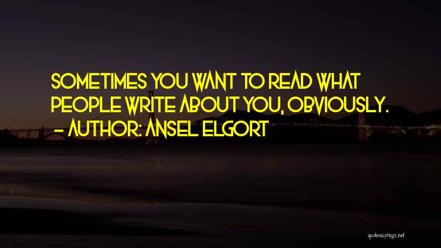 Ansel Elgort Quotes 1014165