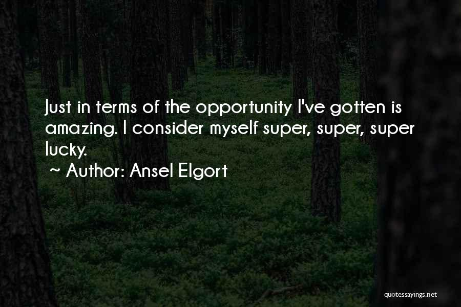 Ansel Elgort Quotes 1222642