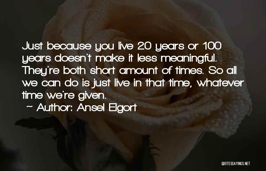 Ansel Elgort Quotes 152758