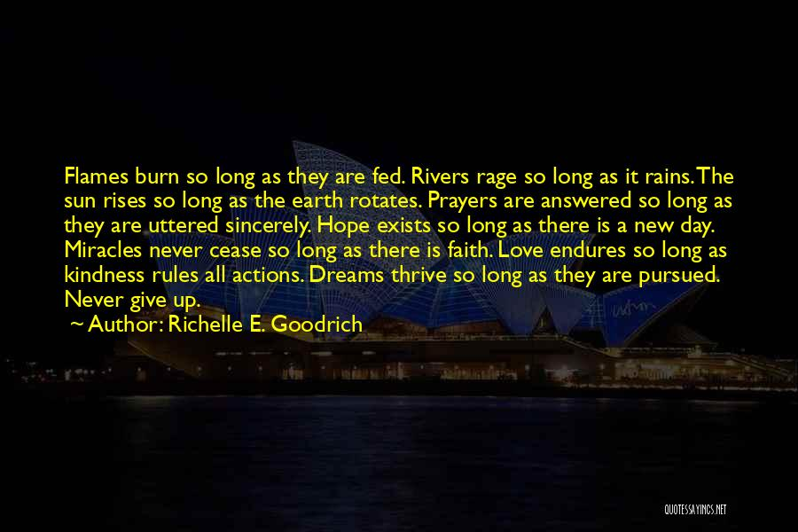 Answered Prayer Love Quotes By Richelle E. Goodrich