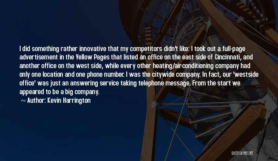 Answering Service Quotes By Kevin Harrington