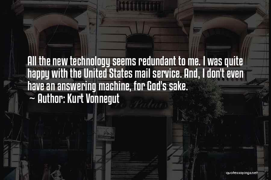 Answering Service Quotes By Kurt Vonnegut