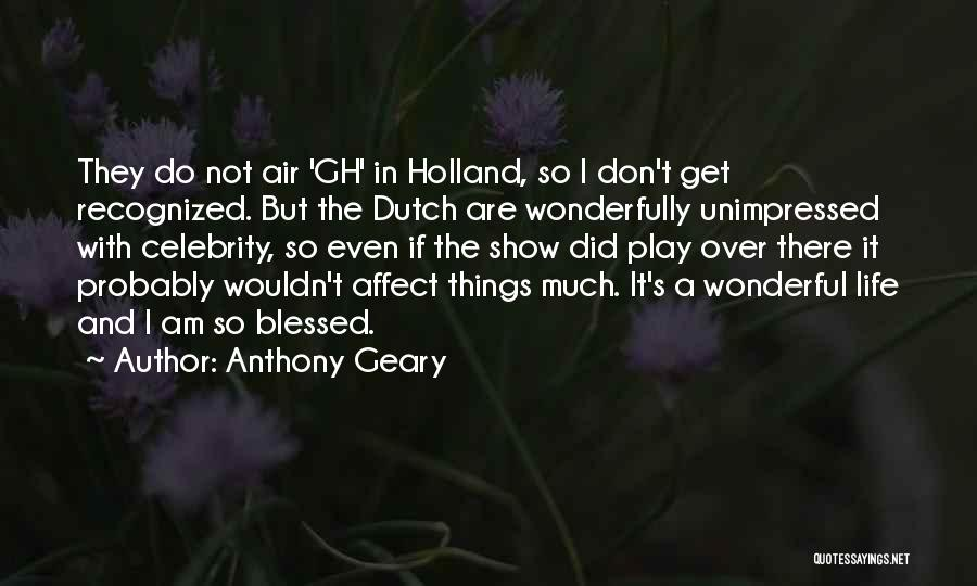 Anthony Geary Quotes 1100749