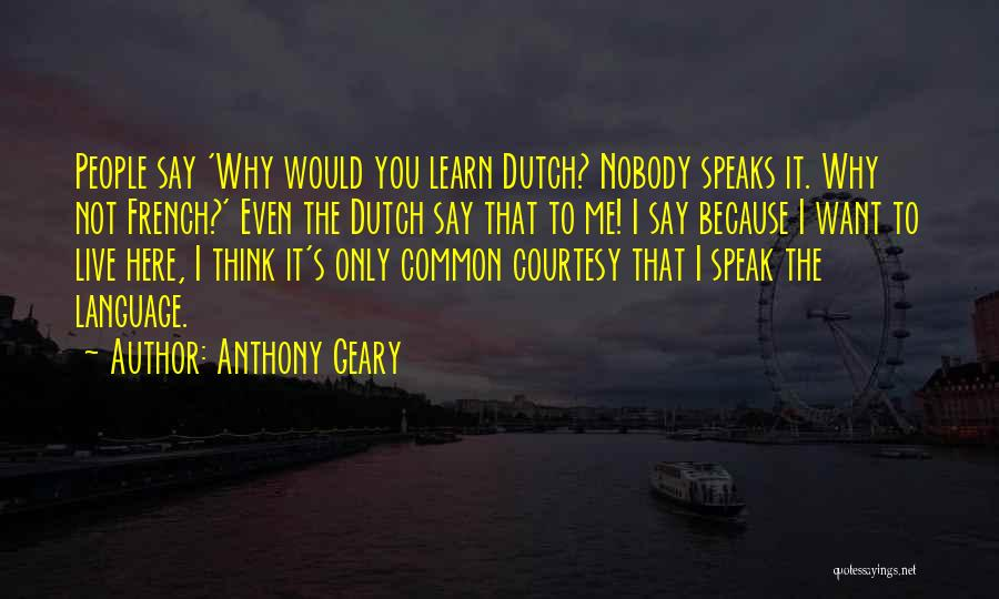 Anthony Geary Quotes 134170