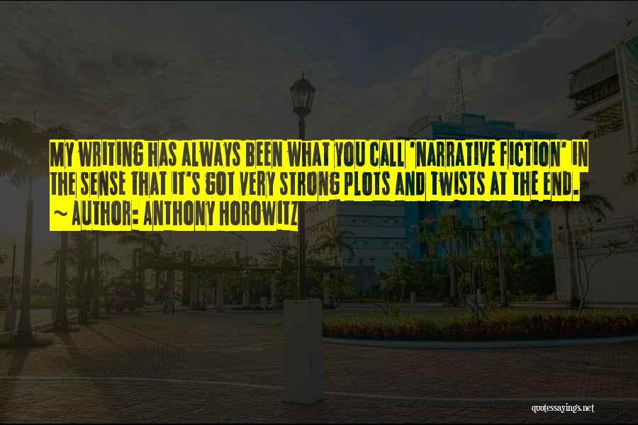 Anthony Horowitz Quotes 1227430