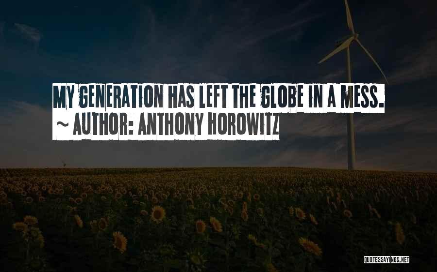 Anthony Horowitz Quotes 1402071
