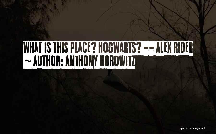 Anthony Horowitz Quotes 1639793