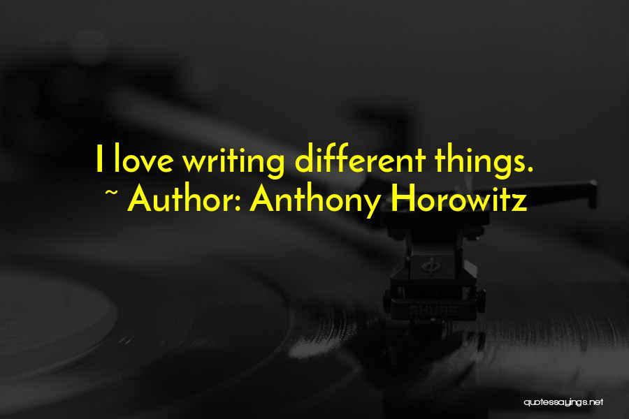 Anthony Horowitz Quotes 1838930