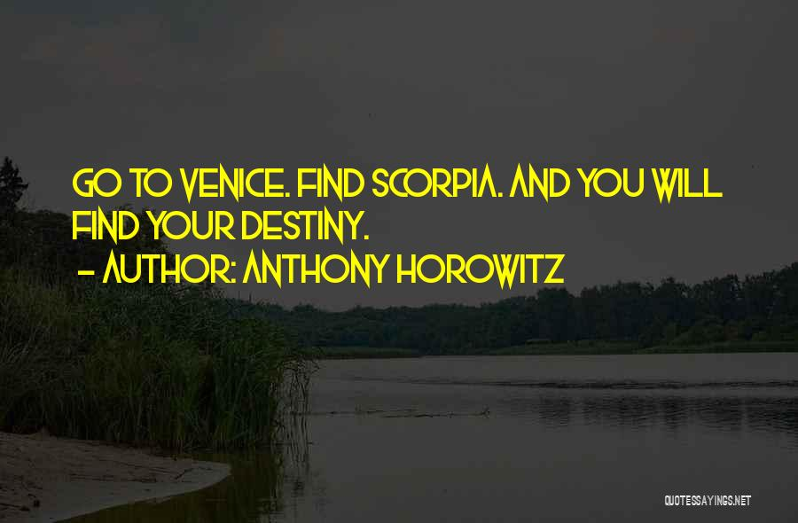 Anthony Horowitz Quotes 2001734