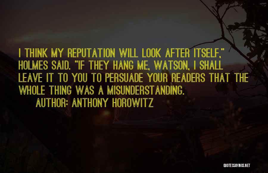 Anthony Horowitz Quotes 237526