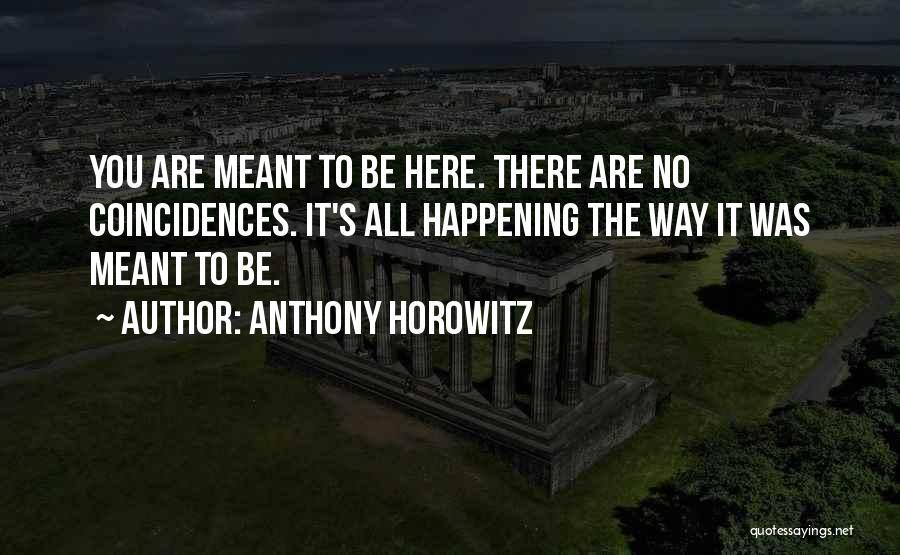Anthony Horowitz Quotes 297775