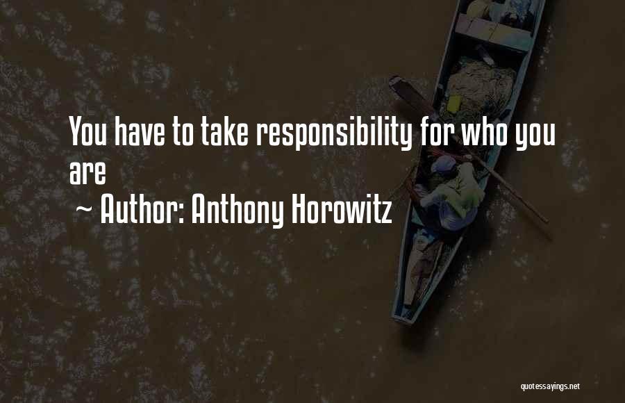 Anthony Horowitz Quotes 305157