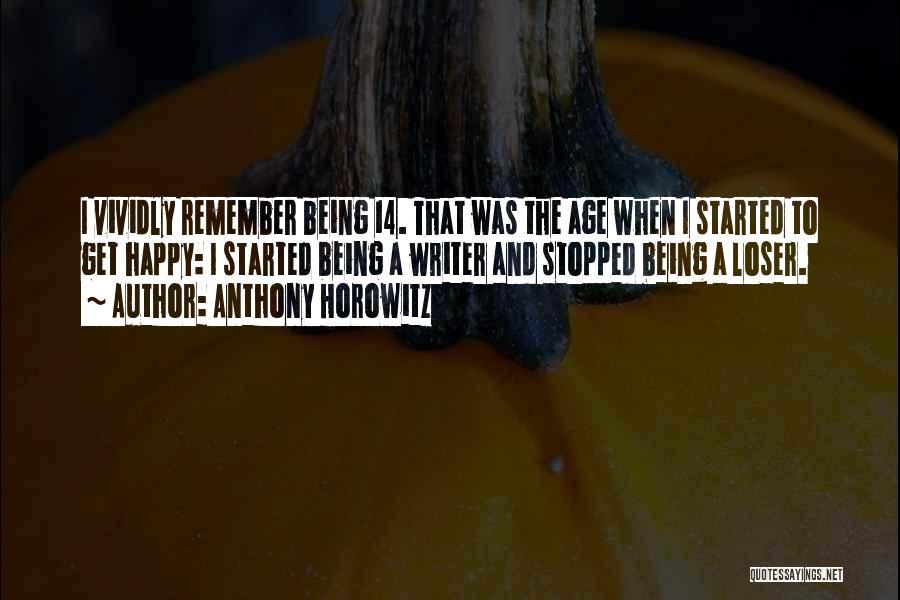 Anthony Horowitz Quotes 426169