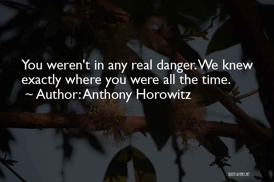 Anthony Horowitz Quotes 514759